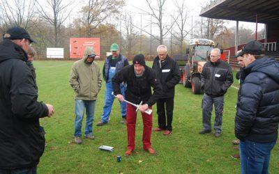 Das Profi-Seminar:Ein Fußballplatz der Extraklasse